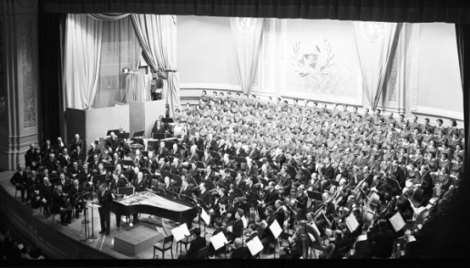 1949 Human Rights Day Concert at Carnegie Hall, courtesy of the UN Audio Visual Library