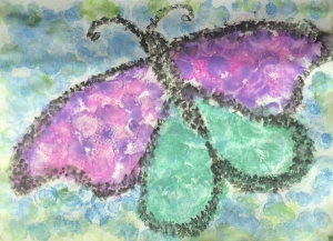 Pointillism 3 - Butterfly