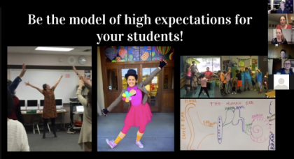 Movement & Dance Photo 1 - Be the model of high expectations for your students