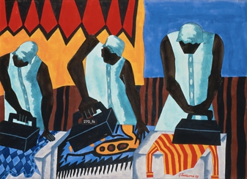 "Jacob Lawrence's ""The Ironers"""