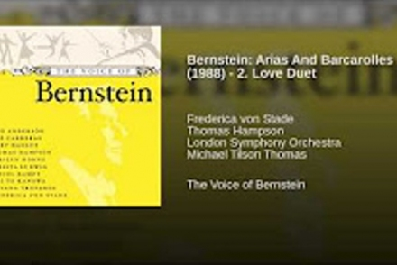 Frederica von Stade · Thomas Hampson · London Symphony Orchestra · Michael Tilson Thomas